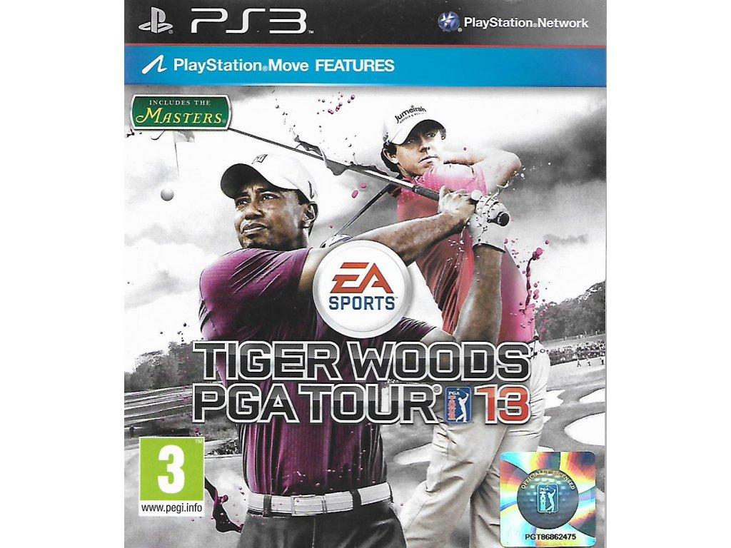 TIGER WOODS PGA TOUR 13 MASTERS