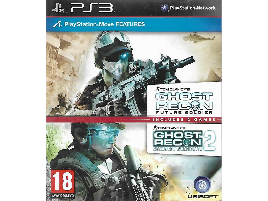 TOM CLANCY'S GHOST RECON TWO GAMES PACK