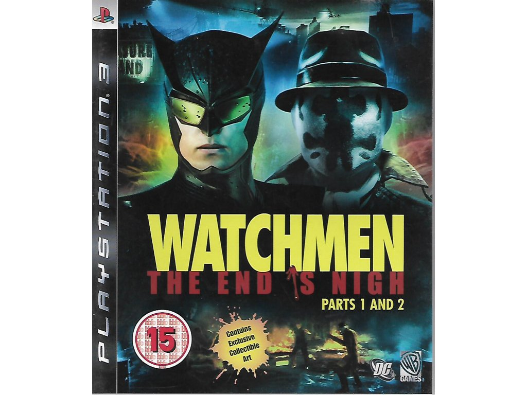 WATCHMEN THE END IS NIGH PARTS 1 AND 2
