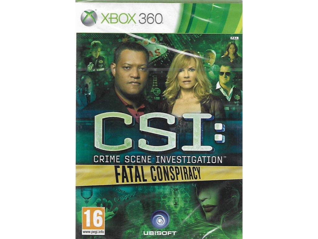 CSI CRIME SCENE INVESTIGATION FATAL CONSPIRACY