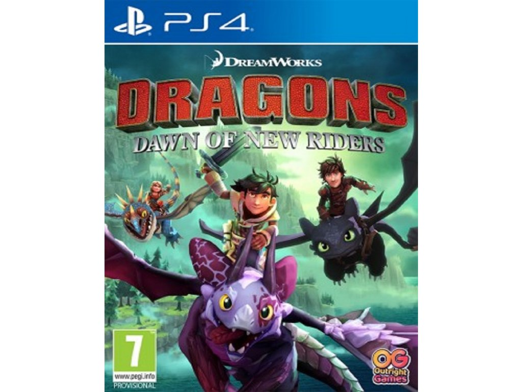 DRAGONS DAWN OF NEW RIDERS