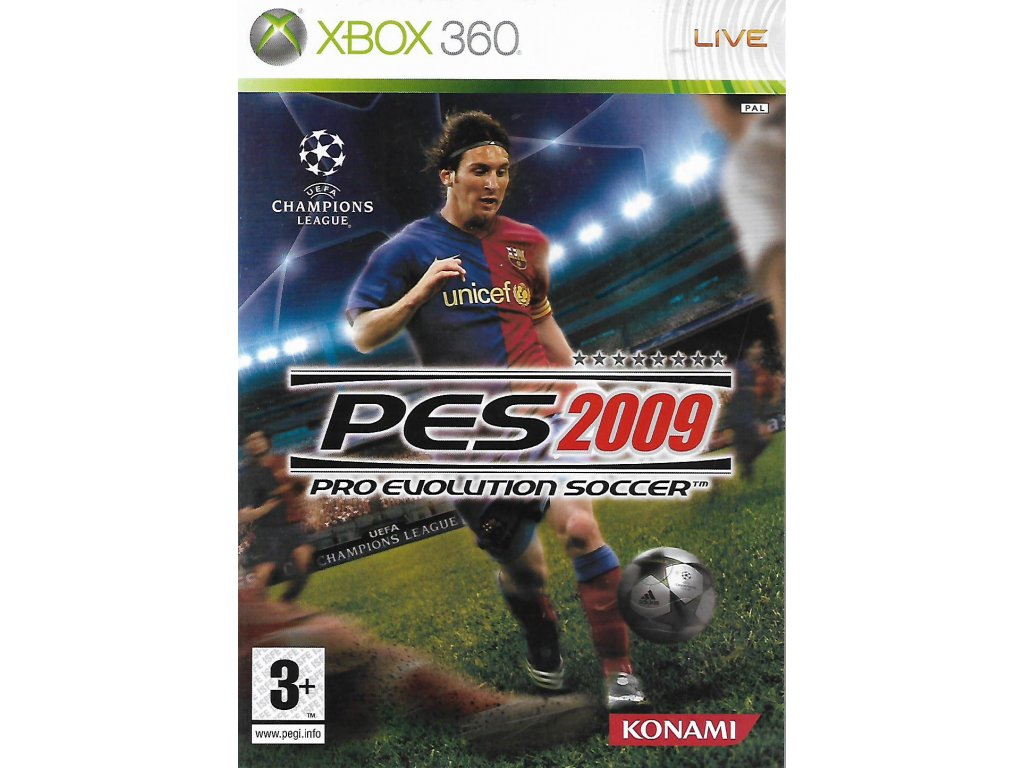 PES 2009 PRO EVOLUTION SOCCER 2009