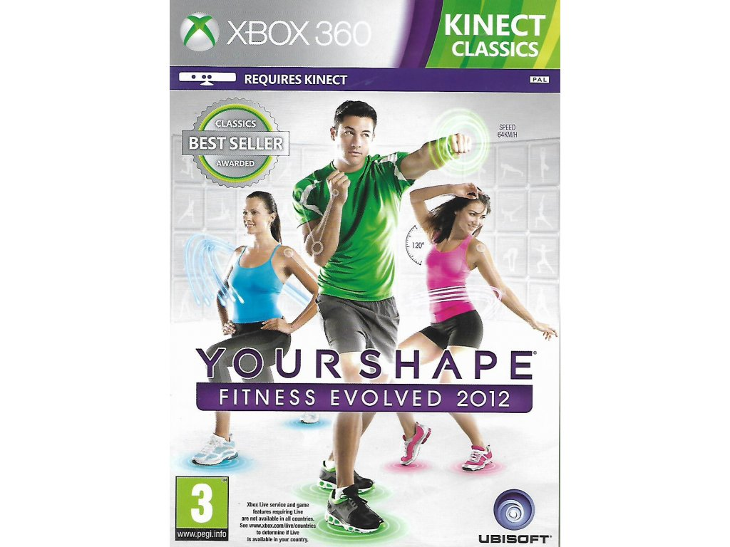 YOUR SHAPE FITNESS EVOLVED 2012