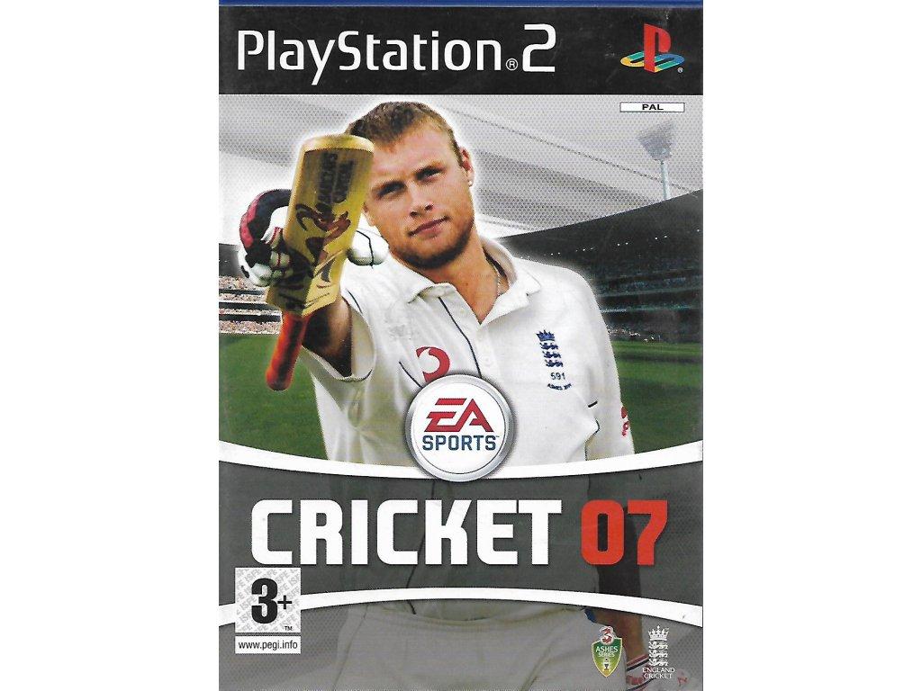 CRICKET 2007 EA SPORTS
