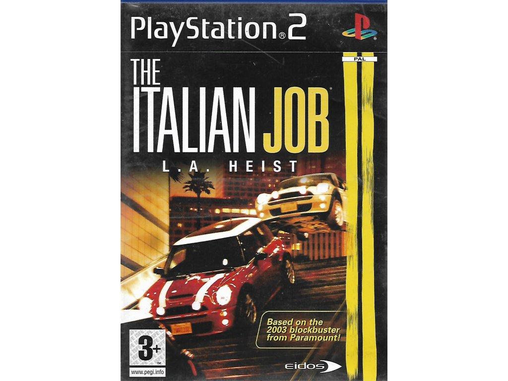 THE ITALIAN JOB L.A. HEIST