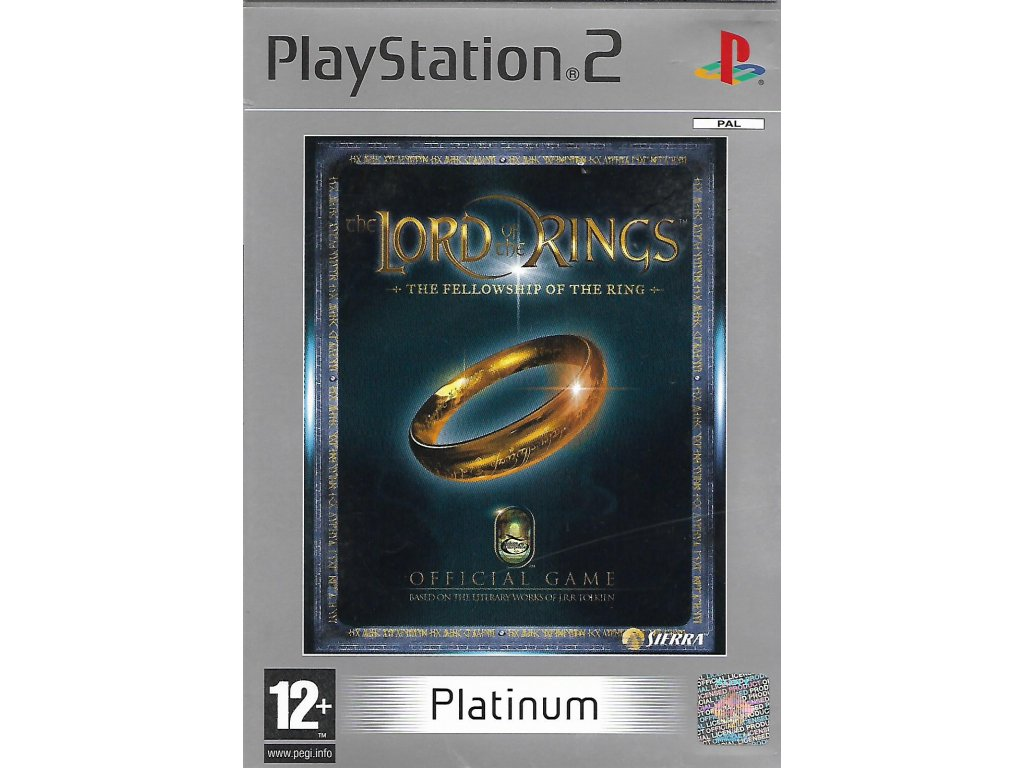 THE LORD OF THE RINGS THE FELLOWSHIP PF THE RING