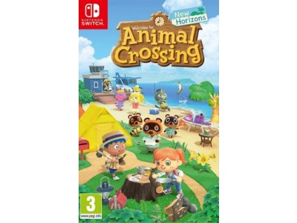 SWITCH ANIMAL CROSSING NEW HORIZONS