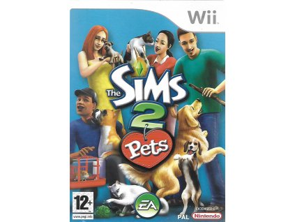 WII THE SIMS 2 PETS