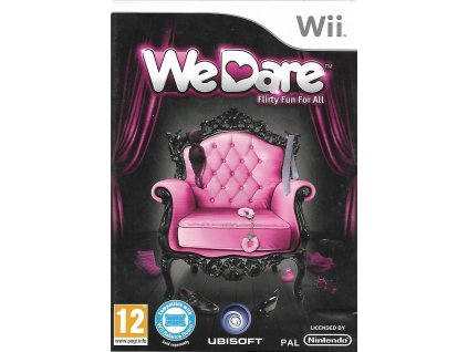 WII WE DARE FLIRTY FUN FOR ALL