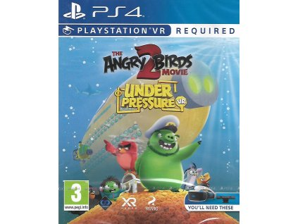 PS4 ANGRY BIRDS 2 THE MOVIE UNDER PRESSURE VR