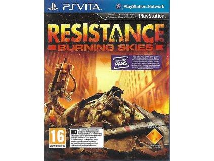 RESISTANCE BURNING SKIES (VITA bazar)