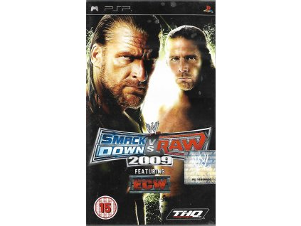 WWE SMACKDOWN VS RAW 2009 (PSP bazar)