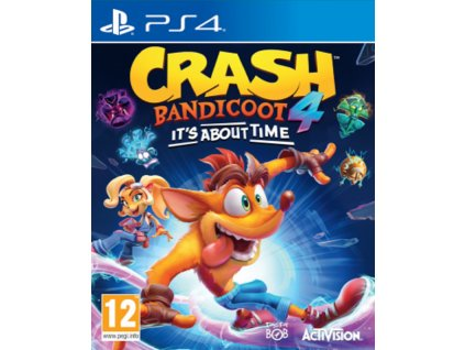 CRASH BANDICOOT 4 ITS ABOUT TIME (PS4 nová)