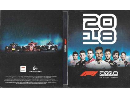 F1 2018 FORMULA ONE 2018 samotný STEELBOOK (PS4 XBOX ONE bazar)