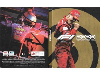 F1 2020 FORMULA ONE 2020 samotný STEELBOOK (PS4 XBOX ONE bazar)