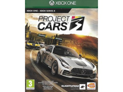 PROJECT CARS 3 (XBOX ONE bazar)