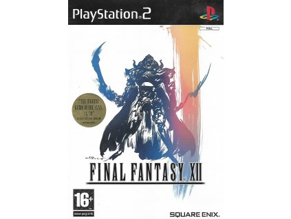 FINAL FANTASY XII (PS2 bazar)