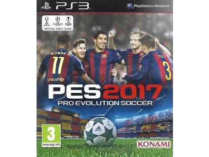 PES 2017 PRO EVOLUTION SOCCER (PS3 bazar)
