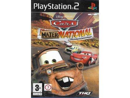 CARS MATER NATIONAL CHAMPIONSHIP (PS2 bazar)