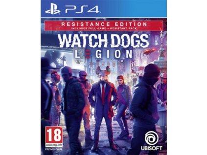 WATCH DOGS LEGION RESISTANCE EDITION (PS4 nová)