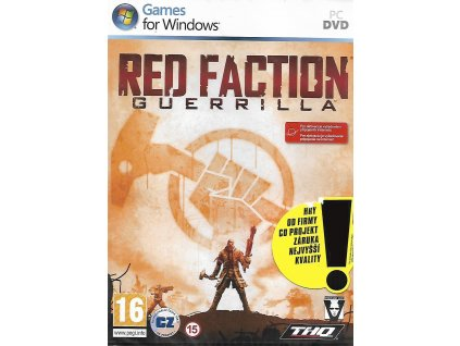 RED FACTION GUERRILLA (PC nová)