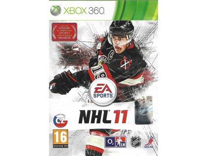 NHL 11 (XBOX 360 bazar)