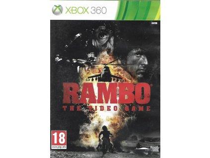 RAMBO THE VIDEO GAME (XBOX 360 bazar)