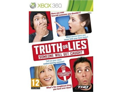 TRUTH OR LIES SOMEONE WILL GET CAUGHT (XBOX 360 bazar)