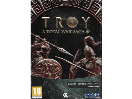 TROY ATOTAL WAR SAGA STEELBOOK EDITION (PC nová)