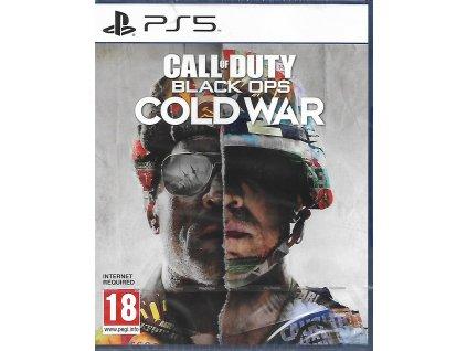 CALL OF DUTY BLACK OPS COLD WAR (PS5 nová)