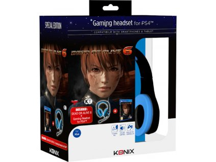 DEAD OR ALIVE 6 + GAMING HEADSET (PS4 nová)