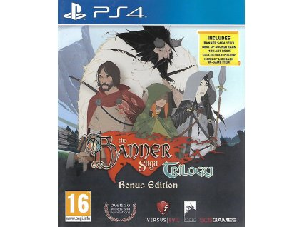 THE BANNER SAGA TRILOGY (PS4 bazar)