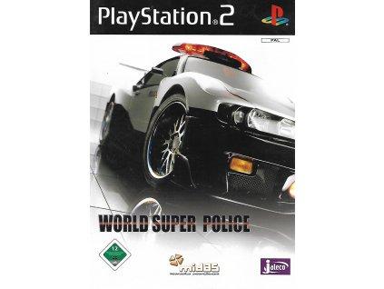 WORLD SUPER POLICE (PS2 bazar)