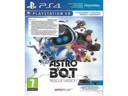 ASTRO BOT RESCUE MISSION (PS4 nová)