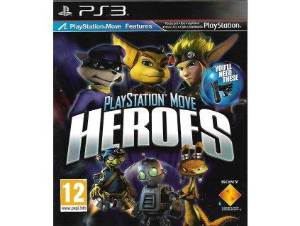 PLAYSTATION MOVE HEROES (PS3 bazar)