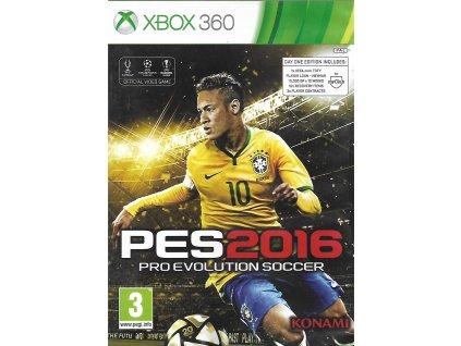 PES 2016 PRO EVOLUTION SOCCER (XBOX 360 bazar)