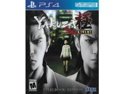 YAKUZA KIWAMI STEELBOOK EDITION (PS4 bazar)