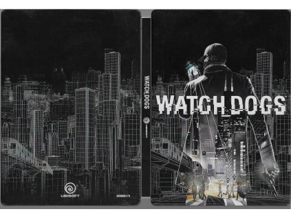 WATCH DOGS STEELBOOK + CHICAGO MAP (PC bazar)