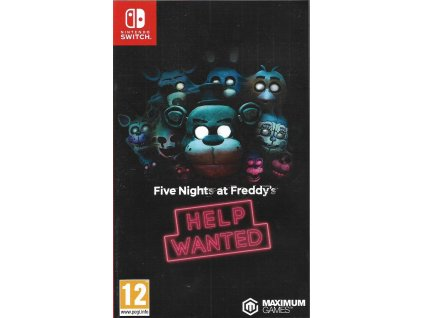 FIVE NIGHTS AT FREDDY'S HELP WANTED (SWITCH bazar)