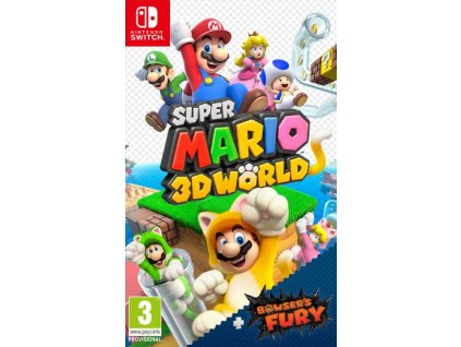 SUPER MARIO 3D WORLD + BOWSER'S FURY (SWITCH nová)