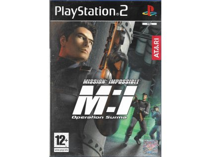 MISSION IMPOSSIBLE OPERATION SURMA (PS2 bazar)