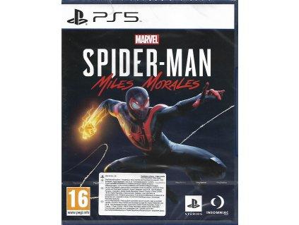 MARVEL SPIDER MAN MILES MORALES (PS5 nová)