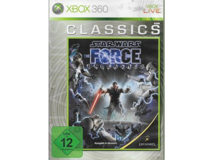 STAR WARS THE FORCE UNLEASHED (XBOX 360 bazar)