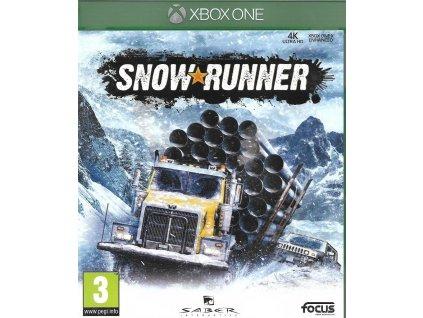 SNOW RUNNER (XBOX ONE bazar)