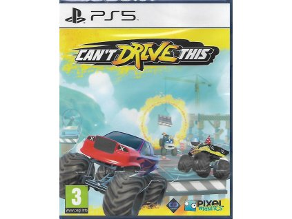 CAN'T DRIVE THIS (PS5 NOVÁ)