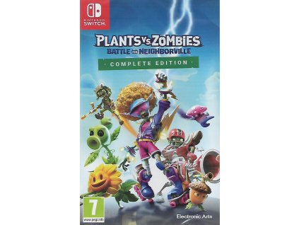 PLANTS VS ZOMBIES BATTLE FOR NEIGHBORVILLE COMPLETE EDITION (SWITCH NOVÁ)