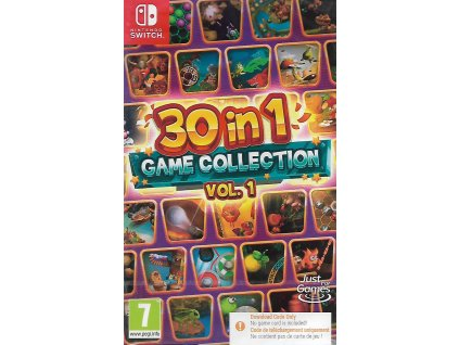 30 IN 1 GAME COLLECTION VOL. 1 (SWITCH NOVÁ)