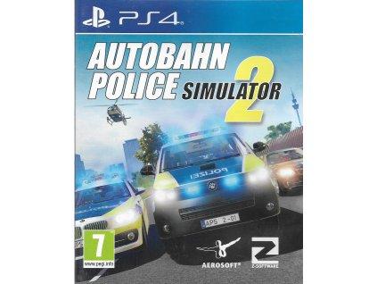 AUTOBAHN POLICE SIMULATOR 2 (PS4 bazar)