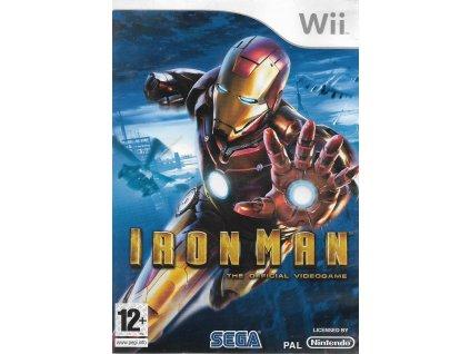 IRON MAN THE OFFICIAL VIDEOGAME (WII BAZAR)