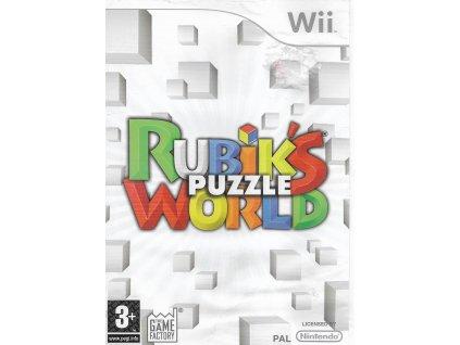RUBIK'S PUZZLE WORLD (WII BAZAR)